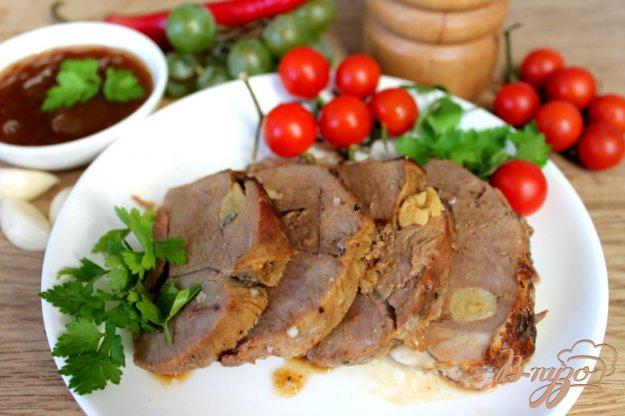 фото рецепта: Мясо ягненка с острым виноградным соусом