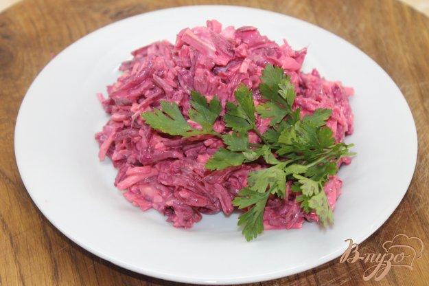 Рецепт свекольного салата с