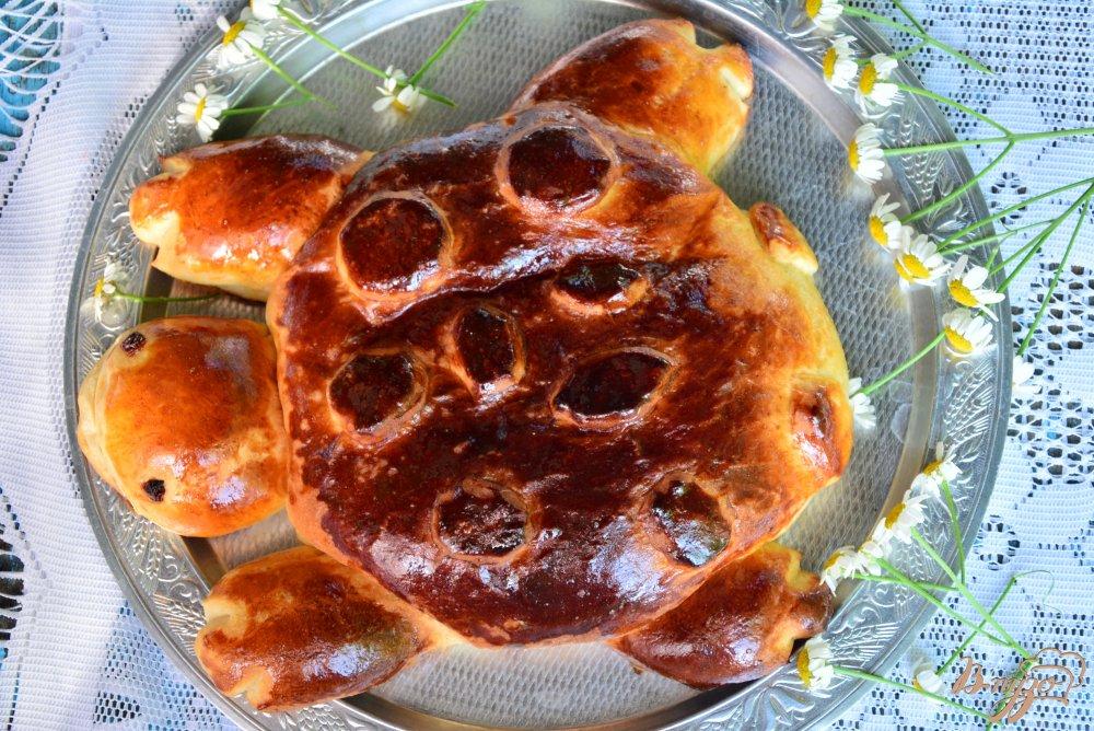 Черепаха пирог рецепт с