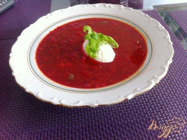 фото рецепта: Борщ дачный