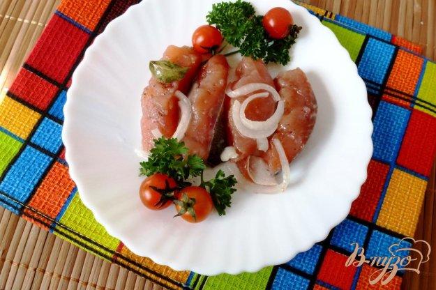 фото рецепта: Горбуша,соленая по-домашнему