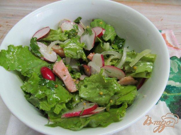 фото рецепта: Овощной салат с ветчиной