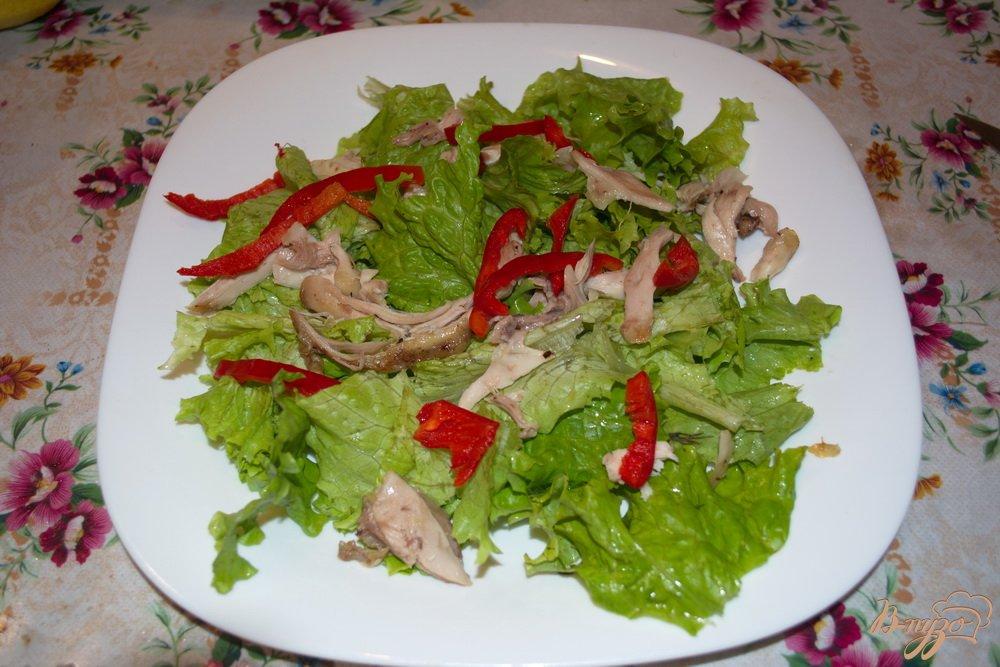 Как сделать лёгкий салат