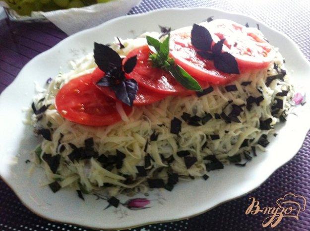 фото рецепта: Закуска из баклажан с восточным мотивом