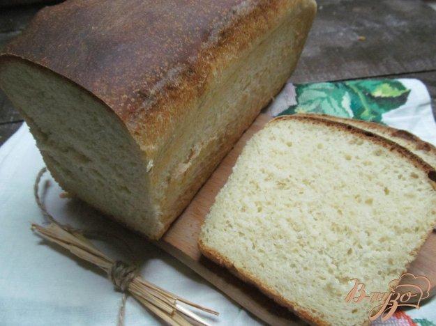 фото рецепта: Белый хлеб с майонезом и горчицей