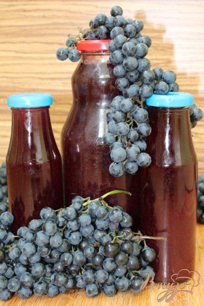 фото рецепта: Сок виноградный на зиму