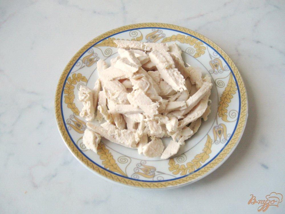Рецепт Фруктово-овощной салат с грибами.
