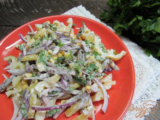 фото рецепта: Салат со свиным сердцем