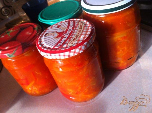 фото рецепта: Лечо с морковью  из Будапешта
