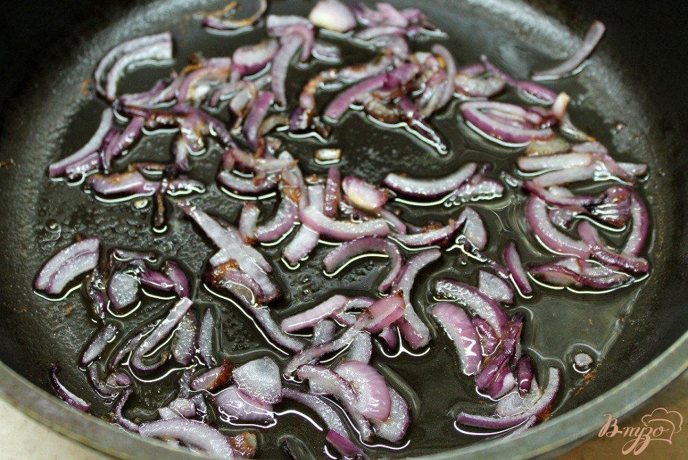 Фото приготовление рецепта: Овощное рагу из зеленых помидор и болгарского перца шаг №1