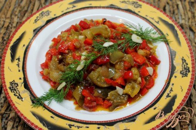 с овощное рагу фото болгарским перцем с