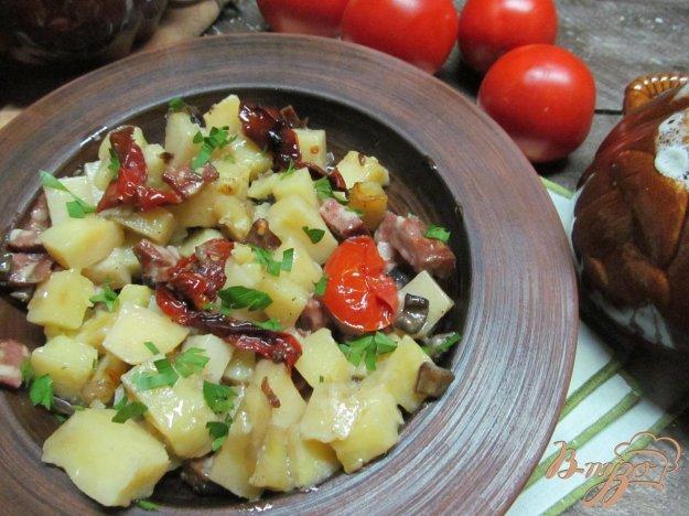 Сосиски с картошкой в горшочке рецепт с пошагово