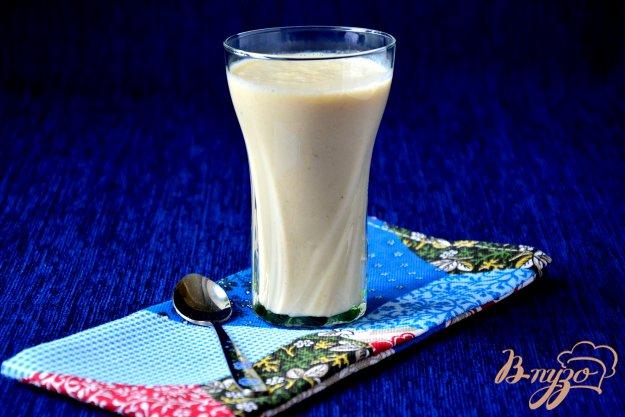 фото рецепта: Молочный коктейль с овсяными хлопьями