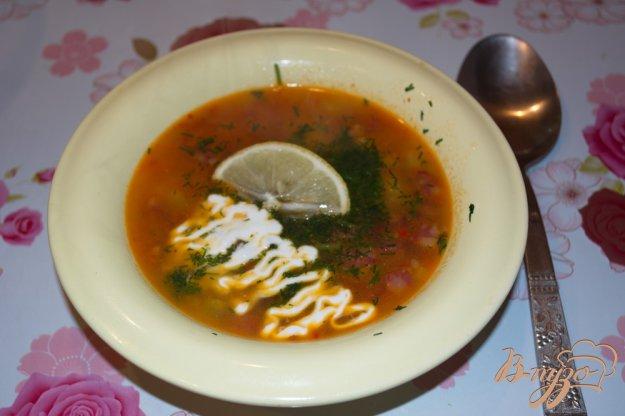 фото рецепта: Домашняя сборная солянка с картошкой
