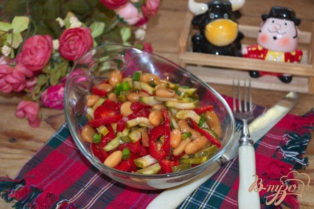 фото рецепта: Овощной салат без особой заправки