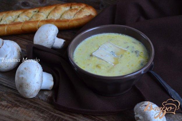 фото рецепта: Картофельный суп с сыром