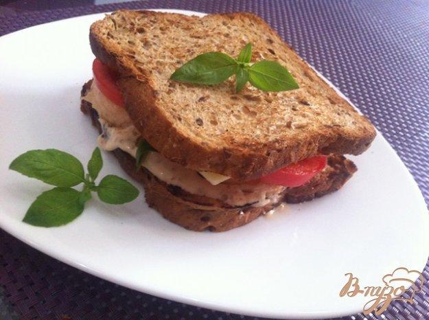 фото рецепта: Сэндвич с лососем
