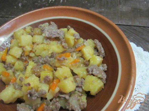 Картошка с капустой и фаршем рецепт с