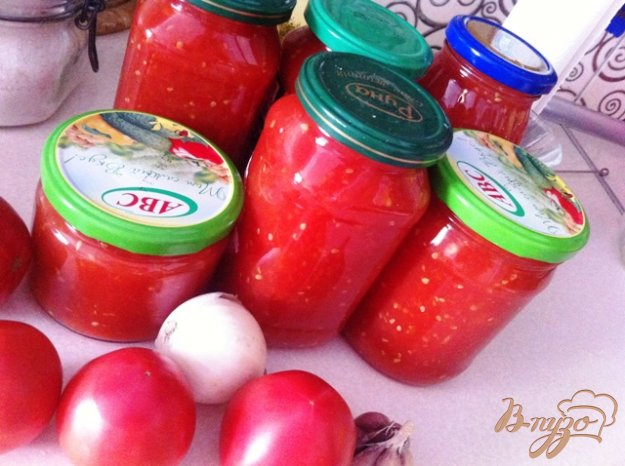 фото рецепта: Томатный соус домашний