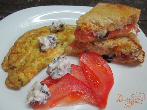 фото рецепта: Сырный завтрак