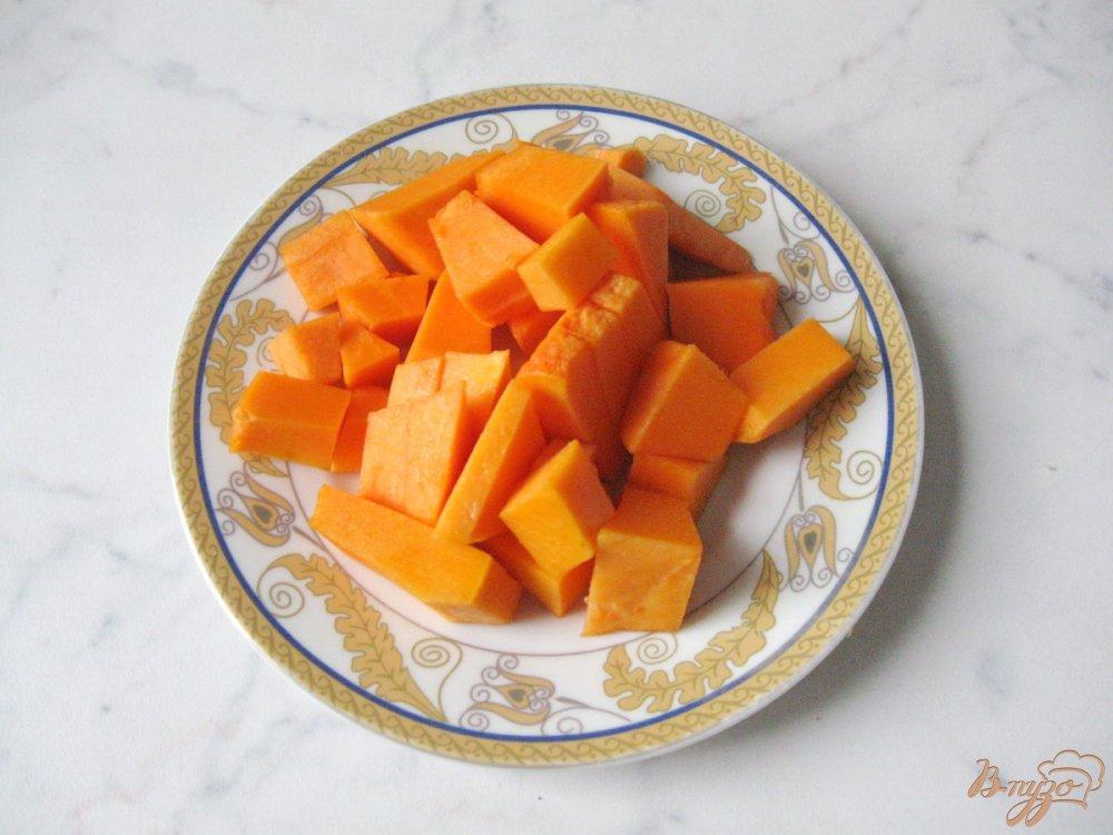 Рецепт Тыквенный смузи с яблоком и йогуртом
