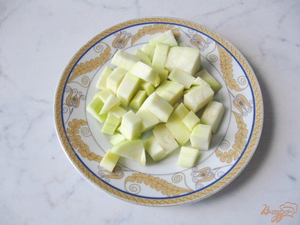 Рецепт Овощное рагу с грибами и луком- пореем