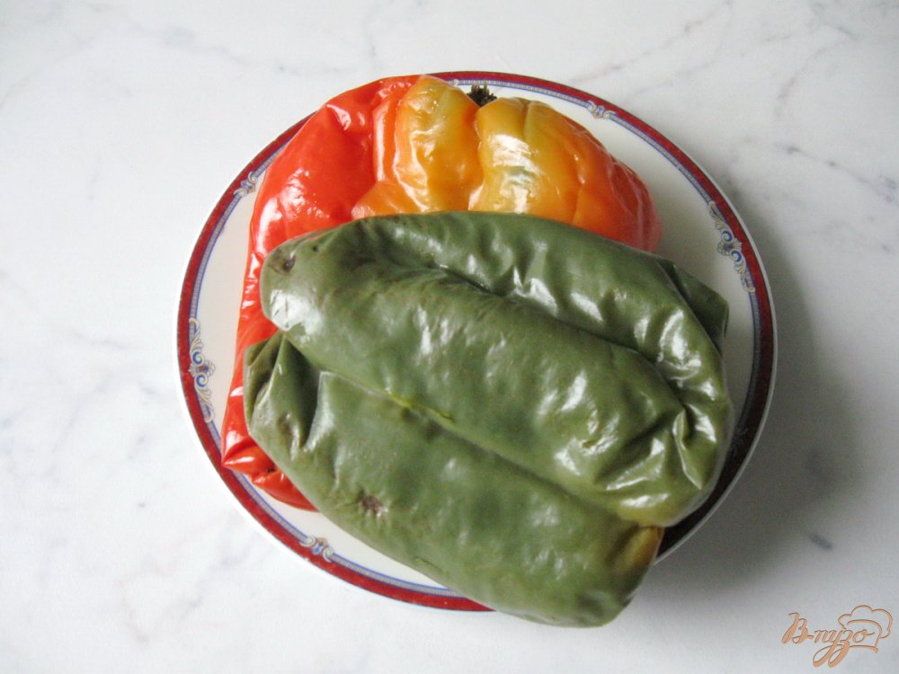 Рецепт Салат из болгарского перца с соевым соусом