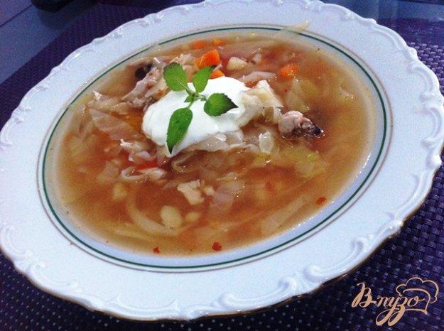 фото рецепта: Легкие щи из свежей капусты