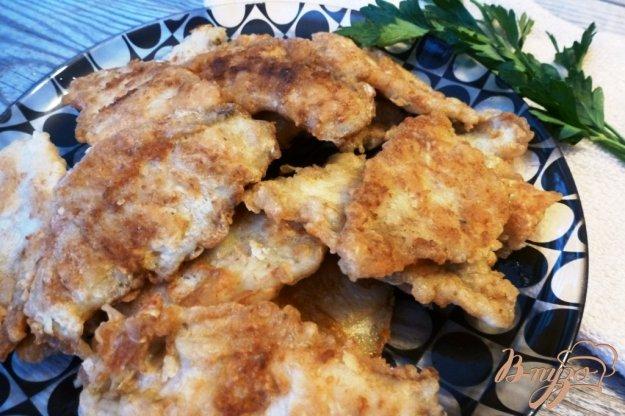 фото рецепта: Ароматное жаренное филе окуня