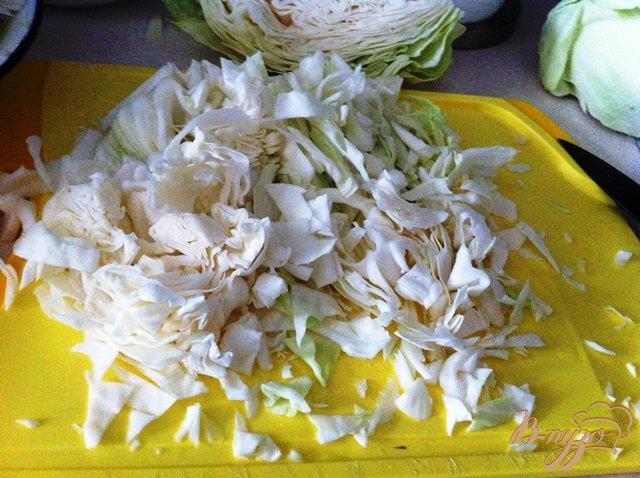 Рецепт Тушеная капуста с томатной пастой