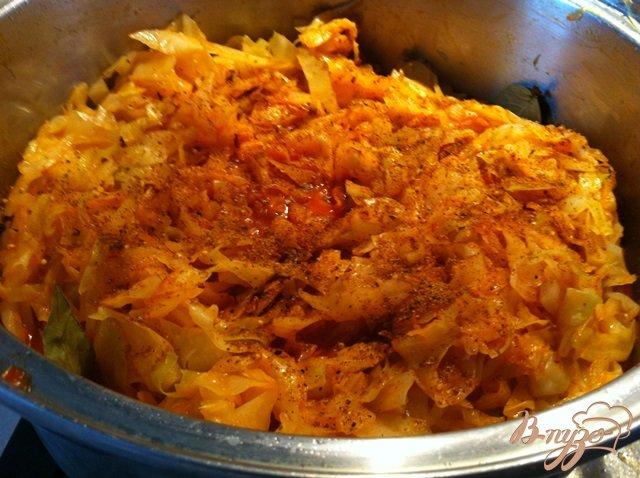 Тушить капусту рецепт пошагово