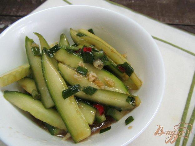 фото рецепта: Огуречный салат по-китайски