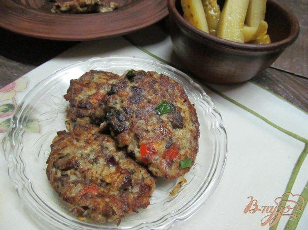 фото рецепта: Картофельные котлеты с печенью