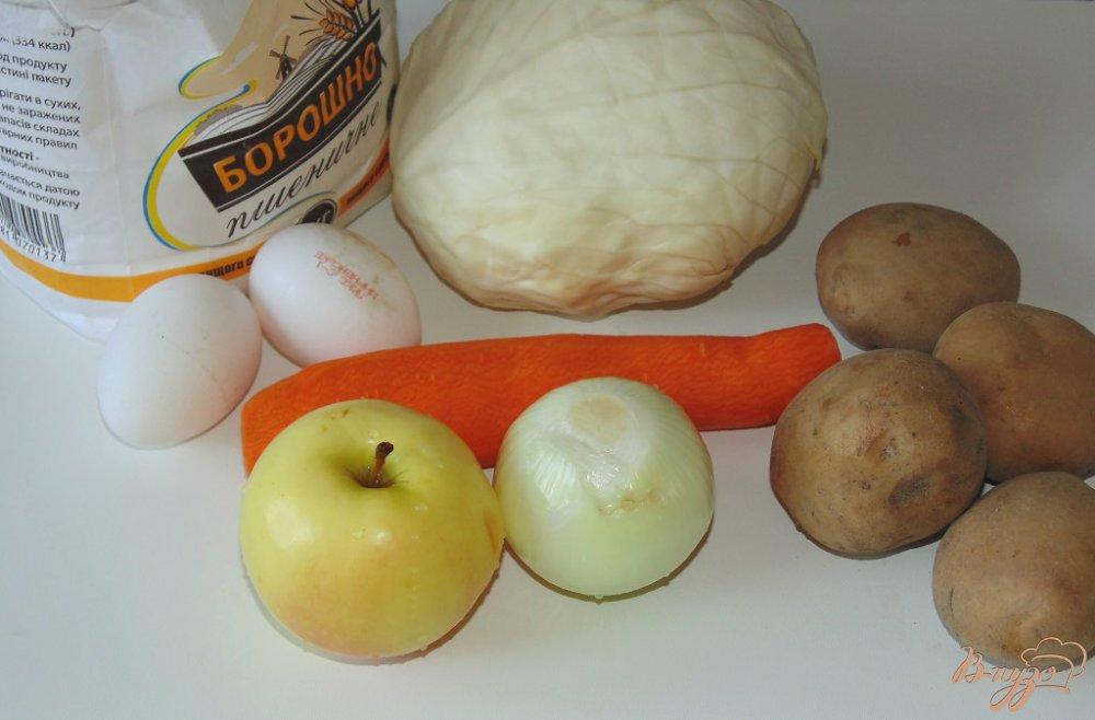Рецепт Овощные драники с яблоком