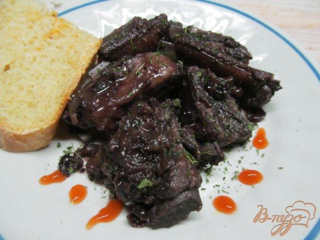 фото рецепта: Свиные ребра в маринаде из черной смородины