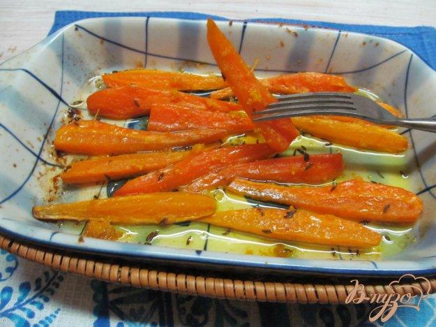 фото рецепта: Запеченная морковь