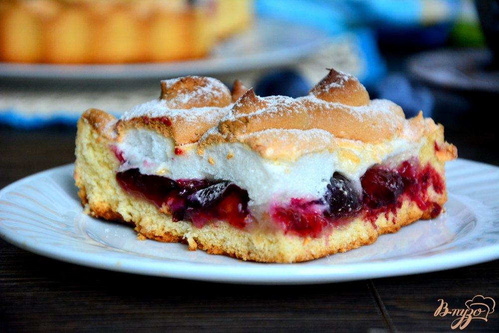 Пирог безе пошаговый рецепт фото