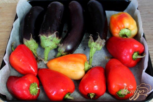 Рецепт Острый салат из печеных овощей и помидоров черри