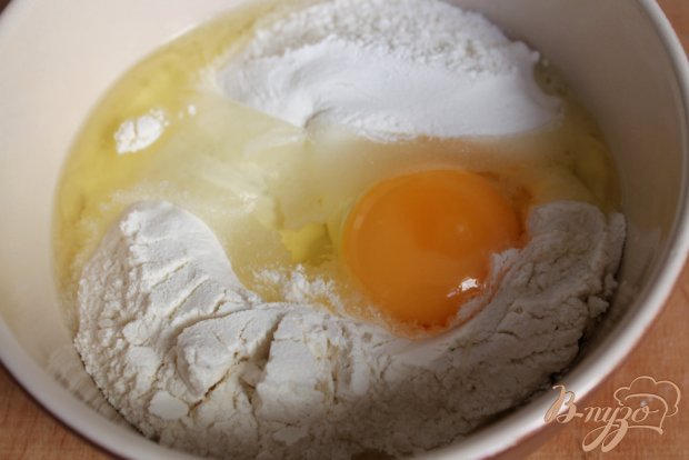 Рецепт Блины с мясом и помидорами