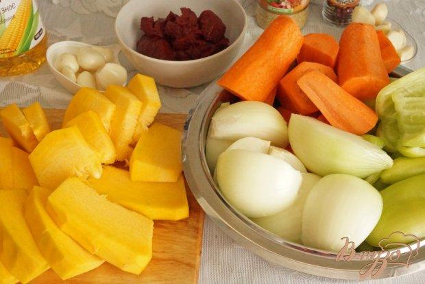 Рецепт Овощная икра с тыквой