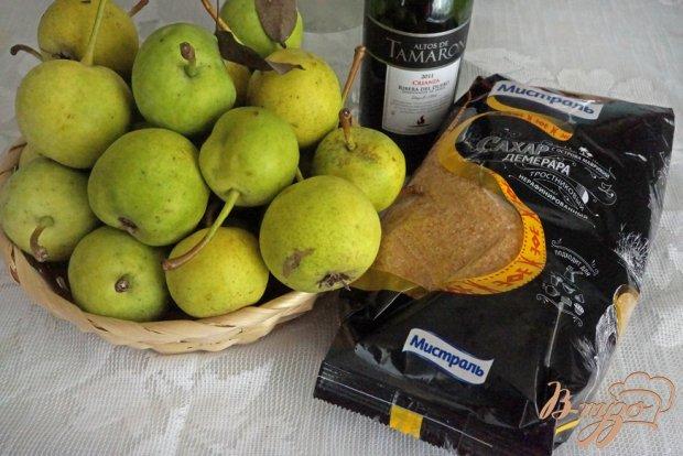 Рецепт Груши в карамели с вином