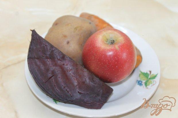 Рецепт Винегрет с кисло - сладким яблоком