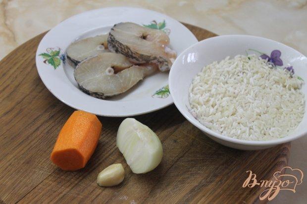 Рецепт Рыбный плов с соевым соусом