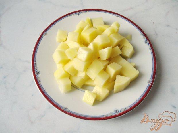 Рецепт Картофель с тыквой и курицей.