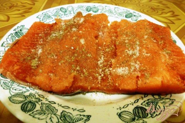 Рецепт Горбуша,соленая по-домашнему