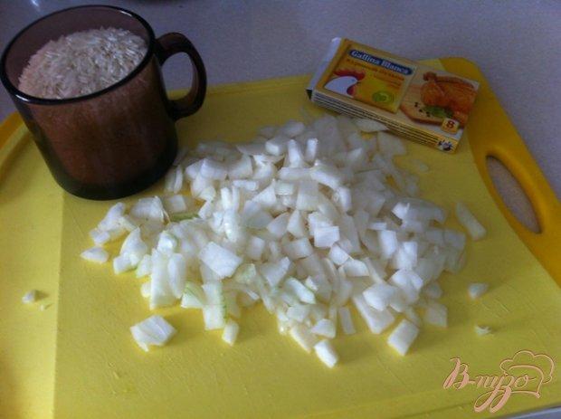 Рецепт Жареный рис с луком