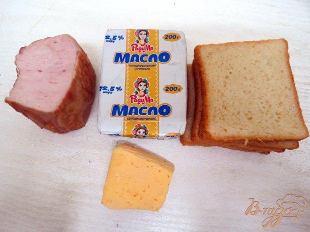 Рецепт Горячие бутерброды в электровафельнице