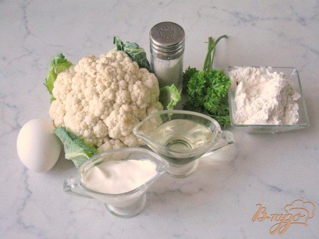 Рецепт Оладьи из цветной капусты с зеленью