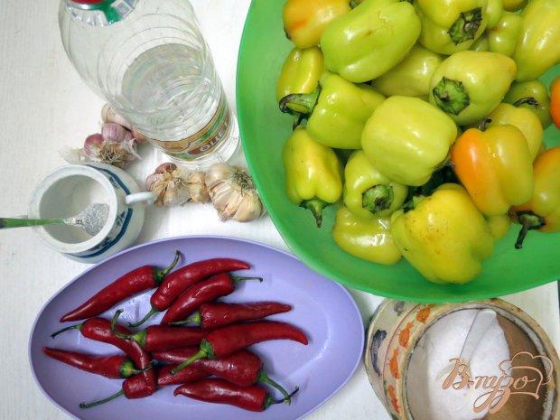 Рецепт Аджика из двух видов перца