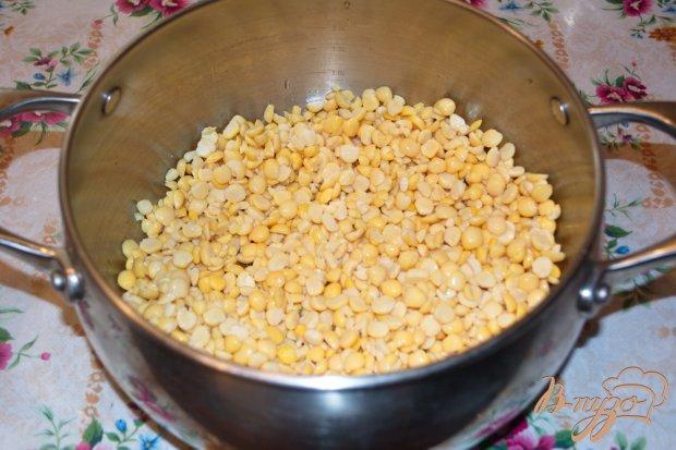 Рецепт Гороховый суп-пюре с гренками